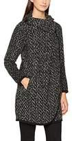 Saint Tropez Women's Coat - Black - 8