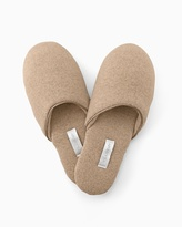 Soma Intimates Cashmere Slipper Heather Sand