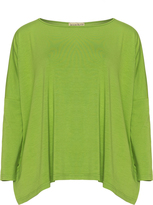 Isolde Roth Plus Size Wide cut jersey top