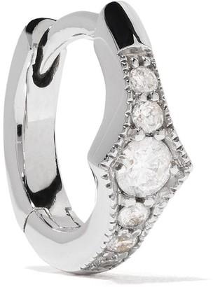 De Jaegher 18kt white gold diamond Mini Spicy earring