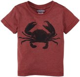 City Threads Crab Heathered Graphic Tee (Baby) - Red-3-6 Months