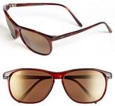 Maui Jim Men's 'Voyager - Polarizedplus2' 60Mm Sunglasses - Gloss Black