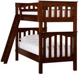 Pottery Barn Kids Twin-over-Twin Bunk Bed, Luxury Firm Mattress & Bunk Mattress Set