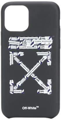 Off-White airport arrows iPhone 11 Pro case