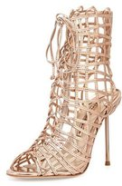 Sophia Webster Delphine Metallic Gladiator Sandal