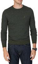 Nautica Snow Cotton Striped Sweater