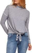 Dex Striped Tie Top