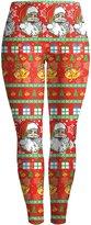 Mooncolour Womens Christmas Printing Stretch Skinny Leggings