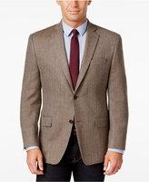 MICHAEL Michael Kors Men's Classic-Fit Oatmeal Herringbone Sport Coat