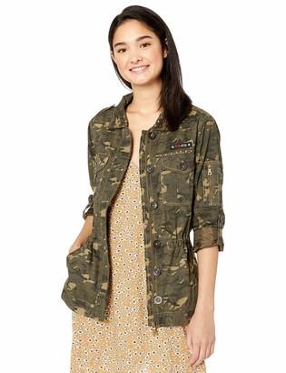 Urban Republic Women's Juniors Cotton Twill Jacket