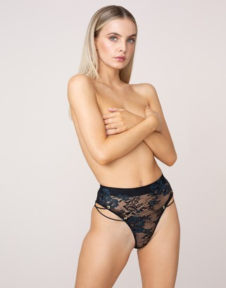 Agent Provocateur UK Larsen High Waisted Thong