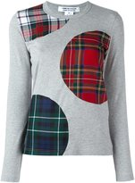 Comme des Garcons patch detail sweatshirt