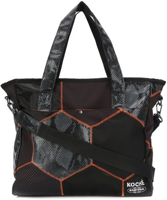 Koché x Eastpak snakeskin-print tote bag