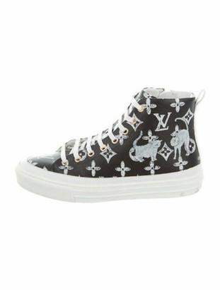 Louis Vuitton Grace Coddington Stellar Sneakers Black