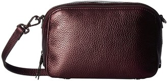 Ecco SP 3 Medium Boxy (Fig Metallic) Wristlet Handbags