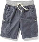Old Navy Jersey-Knit Waist Cargo Shorts for Toddler Boys