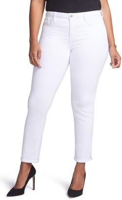 Curves 360 by NYDJ Slim Straight Leg Ankle Jeans (Regular, Petite & Plus Size)