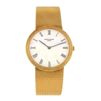 Patek Philippe Calatrava White Yellow gold Watches