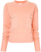 Chloé jumper with front button pockets