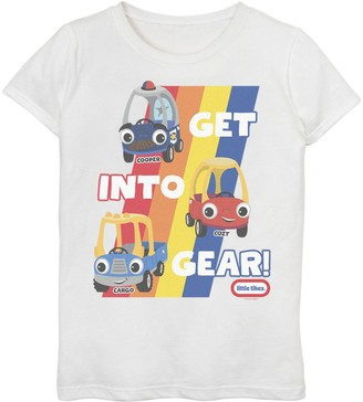 Little Tikes Girls 7-16 Get Into Gear Graphic Tee