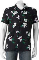 Marc Anthony Men's Slim-Fit Tropical Button-Down Shirt