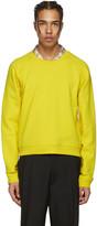 Haider Ackermann Yellow Short Pullover