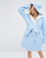 Asos Fluffy Cloud Robe with Ears