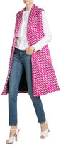 MSGM Fleece Wool Sleeveless Coat