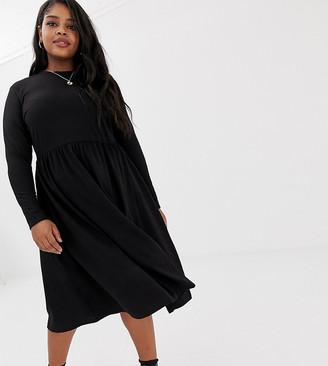 Junarose high neck midi dress