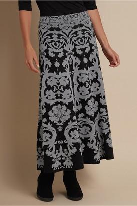 Petites Jacobean Skirt