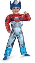Disguise Transformers Optimus Prime Rescue Bot Costume (Toddler & Big Kids)