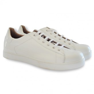 Gianvito Rossi White Patent leather Trainers