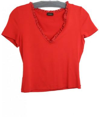 La Perla Red Cotton Tops