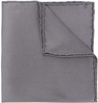 Salvatore Ferragamo textured silk pocket square