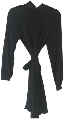 Vanessa Seward Black Silk Dress for Women