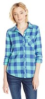O'Neill Junior's Huntington Flannel Plaid Shirt