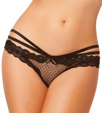 Seven Til Midnight SEVEN 'TIL MIDNIGHT Women's Plus-Size Laila Open Crotch Panty