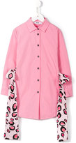 MSGM hanging ribbons shirt dress