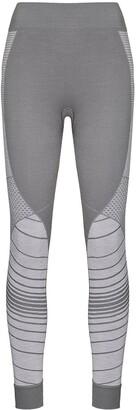 Sweaty Betty Stripe-Jacquard Base Layer Leggings