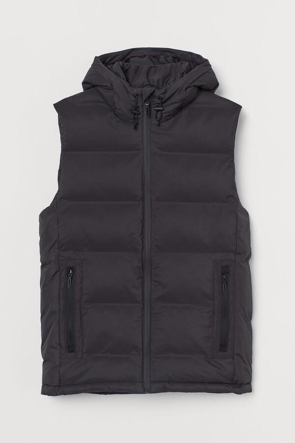 H&M Padded Outdoor Vest - Black