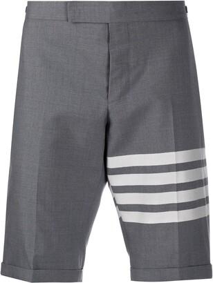 Thom Browne 4-Bar Low Rise Shorts