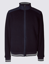 Blue Harbour Zipped Through Fleece Top