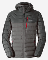 Eddie Bauer Men's Downlight StormDown Hooded Jacket