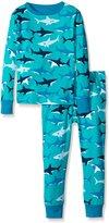 Hatley Little Boys Great White Sharks Pajama Set