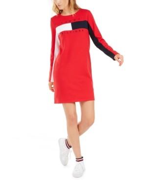 Tommy Hilfiger Colorblocked Logo Dress