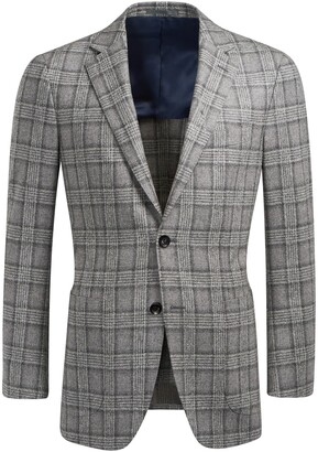 Suitsupply Plaid Wool & Cashmere Sport Coat