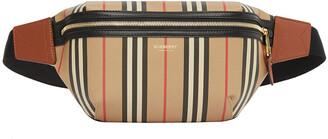 Burberry Sonny Icon Stripe E-Canvas Belt Bag