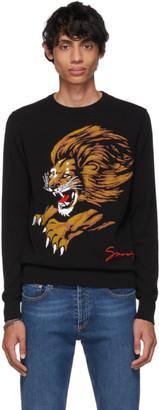 Givenchy Black Leo Sweater