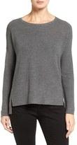 Eileen Fisher Women's Fine Merino Wool Boxy Sweater