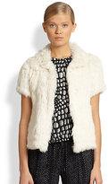 Florent Rabbit Fur Jacket